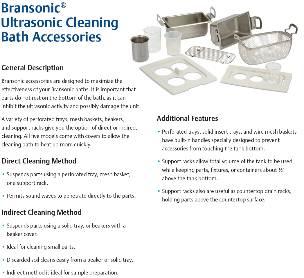 Ultrasonic cleaner Accessories